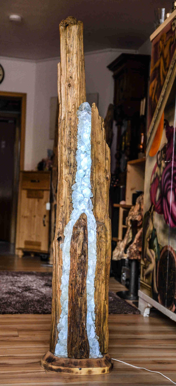 Treibholz Stehlampe Treibholz Stehlampe